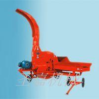 圣嘉制造青贮铡草机操作视频 高效率秸秆铡草机操作方法