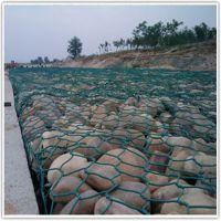 pvc包塑绿格石笼网|海岸防护绿格石笼网|绿格石笼网规格价格