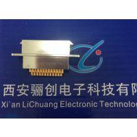 矩形连接器航空焊板子插座J24H-25ZKN《西安骊创》电子元器件