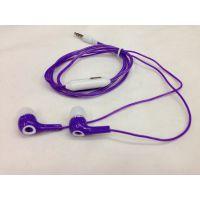 耳机直销批发 热卖新款sony彩色时尚入耳耳机 透明线MP3耳机