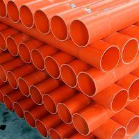 湖南邓权厂家直销PVC高压电力管 PVC埋地式工程电缆套管 批发全国