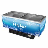 Haier/海尔SD-568岛柜 玻璃门卧式展示柜