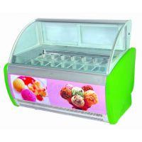 10盘无霜硬冰淇淋展示柜 彬诺厂家直销商用低温冷冻硬冰淇淋展柜 冷冻柜