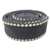 银艺织带厂家专业生产各类人字纹珠纹间色涤棉织带,仿棉腰带肩带