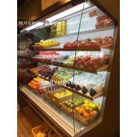 水果风幕柜KTV展示酒柜超市饮料冷藏柜牛奶保鲜柜果蔬展示柜冷柜