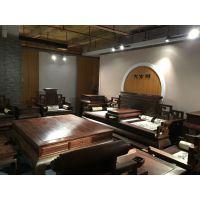 古典老挝大红酸枝沙发_老挝大红酸枝18件套沙发价钱_大古树红木家具厂