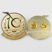 福州专业订做徽章厂家/金属徽章定制、公司logo徽章设计制作