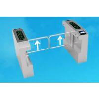 彩屏一体化闸机小区智能出入口刷卡闸机双向通行摆闸
