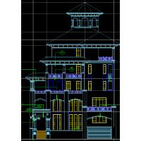 [威海]某二层联排别墅施工图(含效果图)