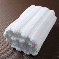 淮安毛巾厂家生产全棉毛巾,条纹吸水白色毛巾。毛巾厂家生产120g提花面巾
