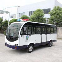 厦门朗迈电动车(品牌),14座封闭式电瓶巡逻车,T14-JM巡逻车观光车