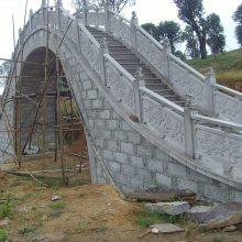 江西汉白玉公园景观石栏杆 石材防护栏 楼梯安全石护栏