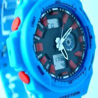 供应2014时尚新款双机芯品牌多功能电子手表,市场零售预计280元左右