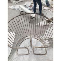 供应济南201玫瑰金不锈钢椅子价格 来图加工 颜色 尺寸 造型 客户自定