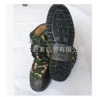 男式迷彩棉鞋劳保棉鞋鞋加厚保暖高帮棉鞋防滑胶鞋解放鞋冬季棉鞋