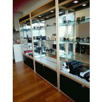 厂家直销顺发精品钛合金展柜工艺饰品珠宝手机柜台定制