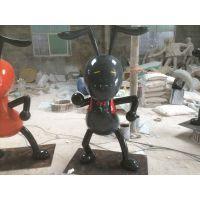 云浮卡通雕塑|名图雕塑|蚂蚁造型卡通