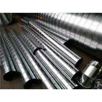 佛山江大螺旋风管厂供应1.2mm厚度圆口白铁皮风管