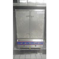 供应西式厨房设备 多功能双开门蒸饭箱 北京市益友公用设备公司的海鲜蒸柜