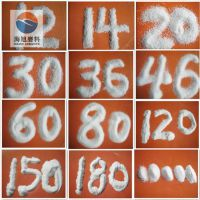 供应一级电熔白刚玉粒度砂8-220目优质喷砂料