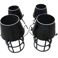 供应DN65*3.5钢制吸水喇叭口支架