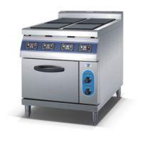 HIC-74E 四头电磁炉连电焗炉电烤箱电烤炉四头电磁煲仔炉