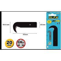 日本原装OLFA爱利华HOB-1镰刀碳素钢刀片 钩刀刀片 适用HOK-1刀