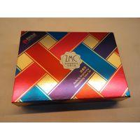 供应高档植美村化妆品天地盖铝箔纸包装纸盒 定制精细裱糊礼品盒