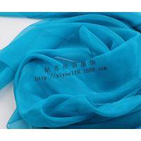 桑蚕丝糖果色真丝雪纺 纯色单色多色入大尺寸丝巾围巾批发