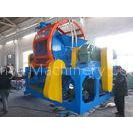 Automatic Tyre Rubber Recycling Shredder Machine Tire Circle Cutting
