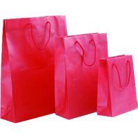 定做红色礼品纸袋 高档手提袋定制