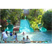 大型水上乐园设备玻璃钢滑道儿童互动水屋儿童水滑梯