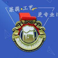 供应马拉松运动会纯铜奖牌定做,金属奖牌制作厂家,广州莱莉