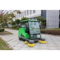 物业工厂驾驶式扫地车供应 欧洁DQS18A半封闭式扫地车