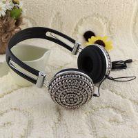 头戴式电脑游戏耳机 网吧耳机 可调音 高档耳麦耳机批发