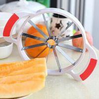 新品 多功能不锈钢水果切片器 西瓜切大号 西瓜哈密瓜切果器