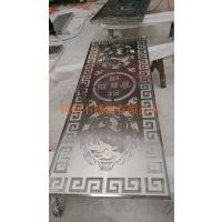 供应不锈钢屏风 隔断建材 可定做各种尺寸 各种花纹 各种颜色