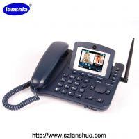 家用电话机 无线固话 插卡电话LS-980 3G可视无线座机 视频电话