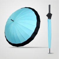时尚创意直杆伞 24骨超强抗风直杆伞 晴雨伞 广告伞 礼品伞 深圳雨伞厂家定制加工
