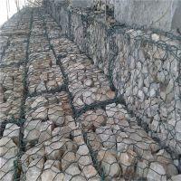 水利提防铅丝石笼_铅丝石笼防护的优势时泰石笼网厂