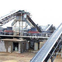 宏基PCL制砂机成功应用到山东邹城生产干混砂浆用机制砂
