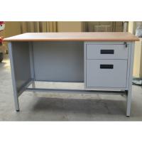 丰龙办公家具厂家直销特价简约钢制办公桌单人电脑桌员工写字台带抽屉
