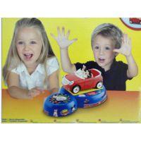 迪士尼disney儿童玩具车 米奇米妮转转玩具车 组装计时拆装车