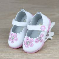 温州品牌童鞋批发0-1-3岁宝宝鞋软底婴儿公主鞋闪灯鞋耐磨超迁皮