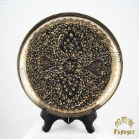 批发巴基斯坦手工铜雕挂盘 异域风情工艺品 特色家居饰品 BH042