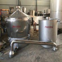 齐齐哈尔白钢酿酒冷却器报价 定做加工500斤投料的烧酒设备 圣嘉机械