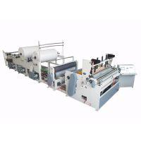 卫生纸复卷机品牌1880型全自动高速卫生纸机 精诺机械性能稳定畅销全国
