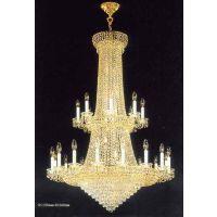 中元之光定制豪华水晶吊灯 水晶蜡烛灯 工程非标定制灯 生产销售