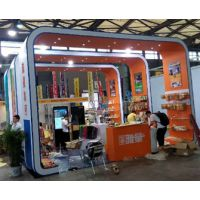 第六届上海国际餐饮连锁加盟与特许经营展览设计制作,御图展览工厂