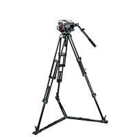 Manfrotto/曼富图 509HD液压摄像云台和545三节双管摄像三脚架套装 509HD 545